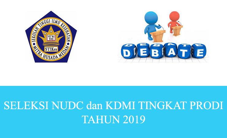 SELEKSI NUDC dan KDMI TINGKAT PRODI TAHUN 2019
