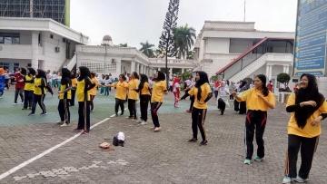 Kegiatan Hari Anti Narkoba oleh Pemerintah Provinsi Sumatera Utara bersama Badan Narkotika Nasional Provinsi Sumatera Utara (Kantor Gubsu, 26 Juni 2019)