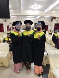 Acara Wisuda Bersama STIKes Mitra Husada Medan Prodi Pendidikan Profesi Bidan Program Profesi, Prodi Kebidanan Program Diploma Tiga Medan, 04-05 September 2020
