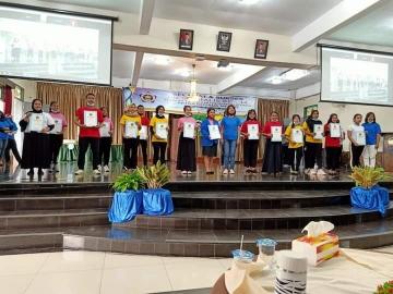 Acara Diesnatalis STIKes Mitra Husada Medan yang ke-14 Tahun 2020