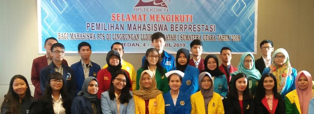 Pilmapres Tingkat Wilayah LLDIKTI I 04 April 2019 di Hotel Grand Dhika, Medan