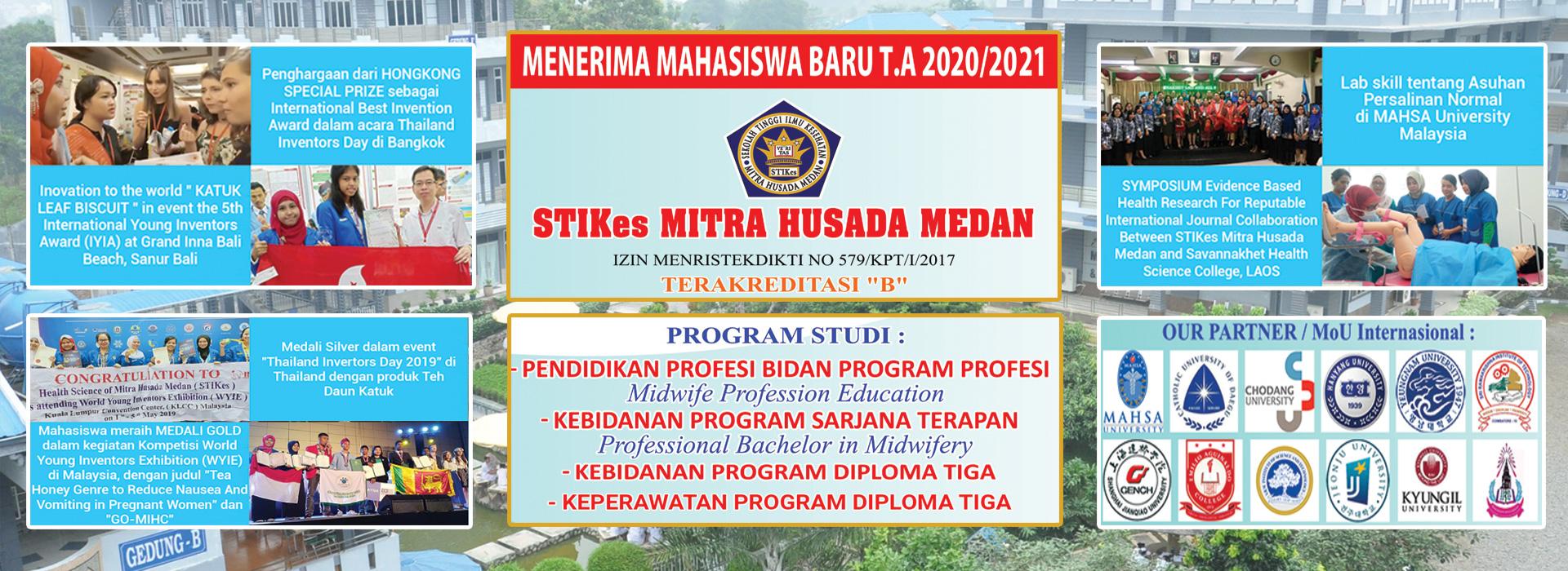 Penerimaan Mahasiswa Baru T.A 2020/2021 STIKes Mitra Husada Medan